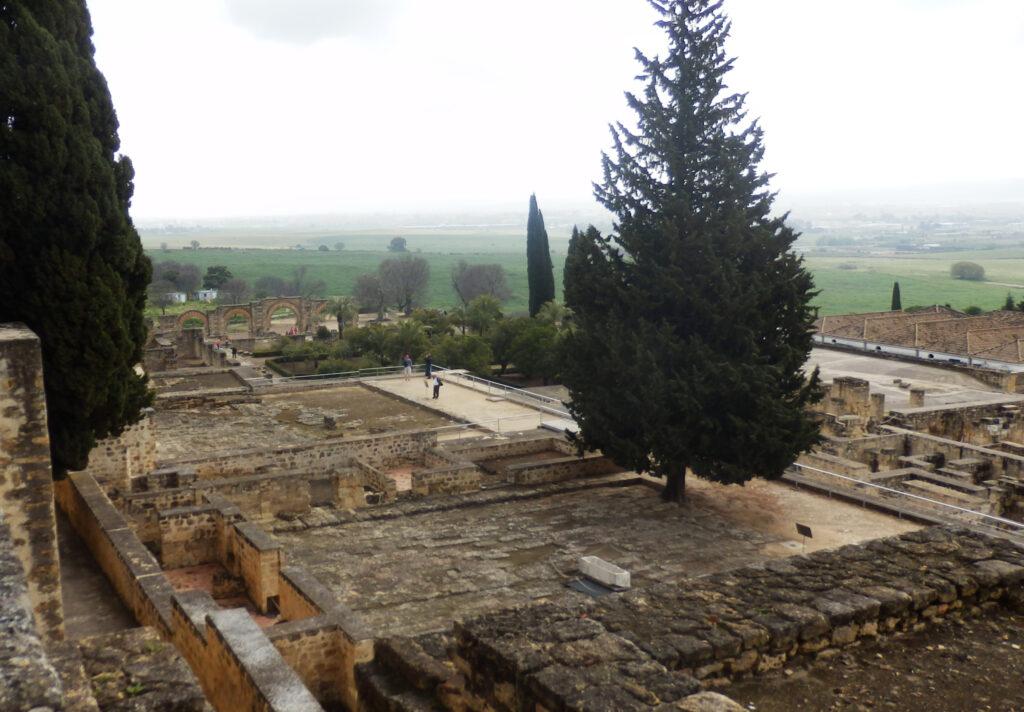 Vista del conjunto urbanístico de  Medina Azahara.