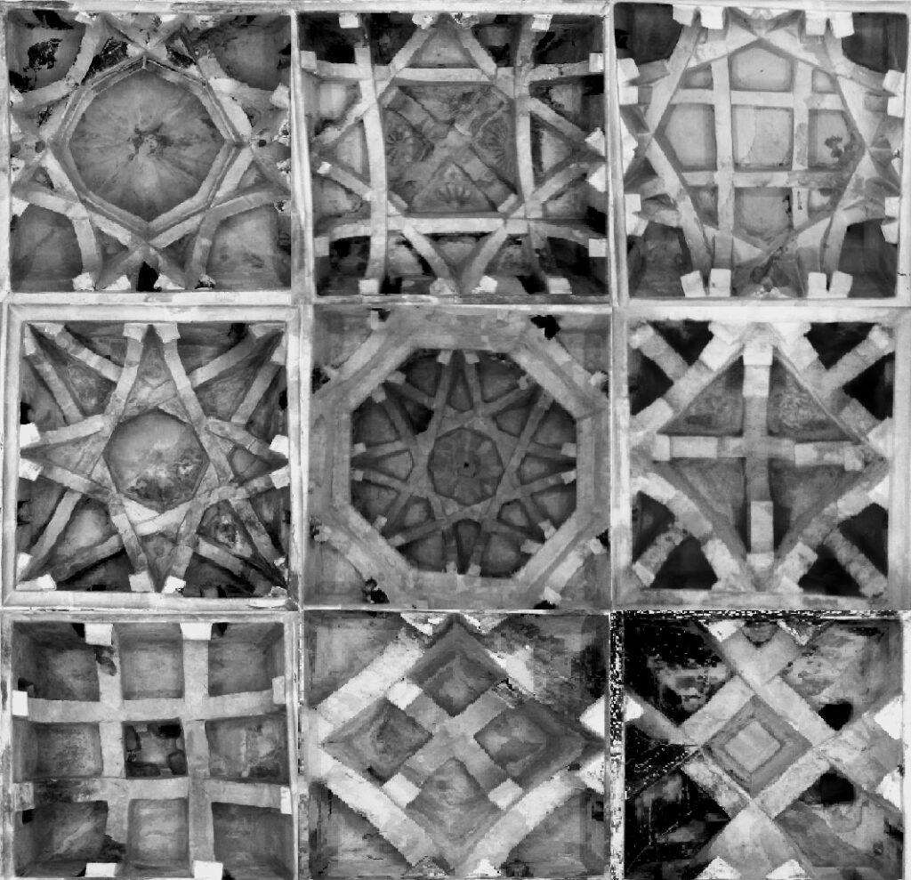 La Mezquita del Cristo de la Luz de Toledo: las nueve bóvedas califales.